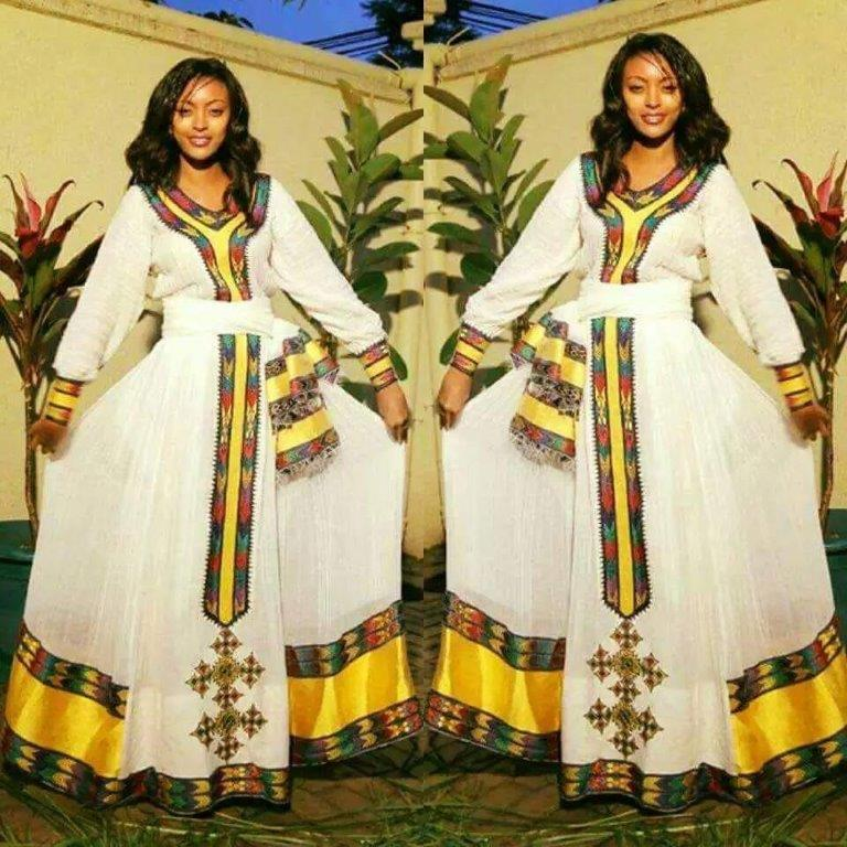 Designer Fullas Habesha Dress Designer 15 Reviewethio