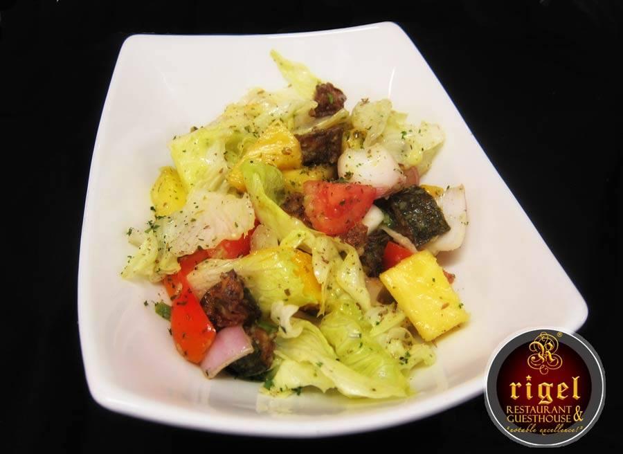 Rigel restaurant reviewethio for Gazelle cuisine n 13